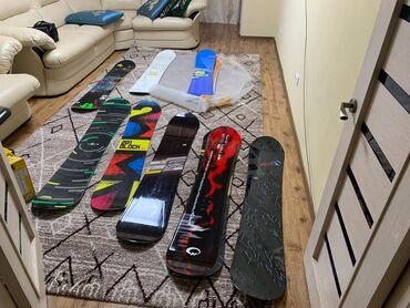 Сноуборды в Кыргызстан: Продаю Сноуборды! Японские! Состояние масло, найдется под любой
