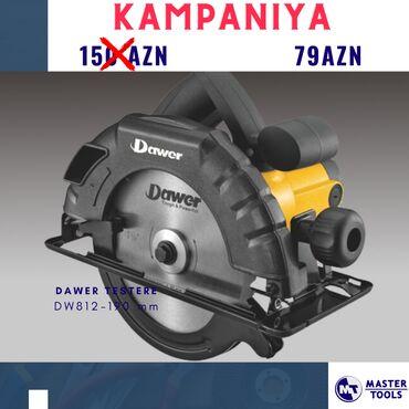 Alətlər - Azərbaycan: Mişar Dawer 180 mm