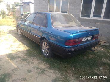 Транспорт - Кок-Джар: Mitsubishi Galant 2 л. 1991   123456 км