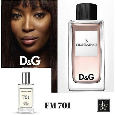 В наличии аналог D&G Imperatrice 50 ml в Бишкек