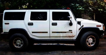 Hummer в Кыргызстан: Hummer H2 6 л. 2003 | 200000 км