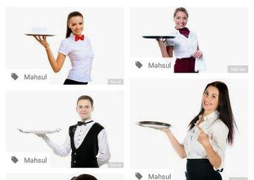 Bakı şəhərində Nerimanovda yerleshen restorana ofisiant teleb olunur..Ish saati 12