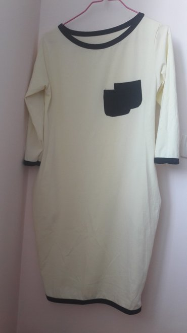 Платье. 42 - 44 размер. лимонного цвета. подходит беремяшкам в Бишкек