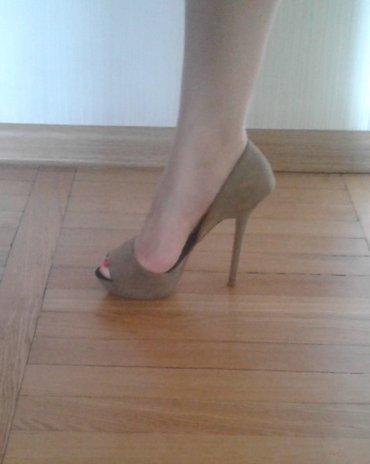 замшевые туфли вечерние в Кыргызстан: Туфли замшевые, Zara, 36-й размер, б/у