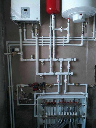 Опытный сантехник. Замена отопления и в Бишкек
