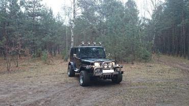 Jeep wrangler, газ. пробег 118000 км, 4. 2 мт, газ, полный привод, в Ош