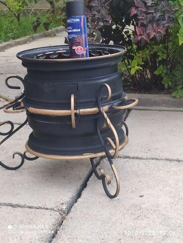 Все для дома и сада в Кок-Ой: Очаг для дома удобный для транспортировки.с 10 литровым казаном стоит