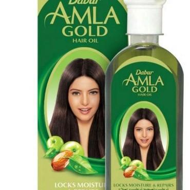 Amla yağı Gold: Saç tökülmə saçların sağlam uzanması,saçlarda