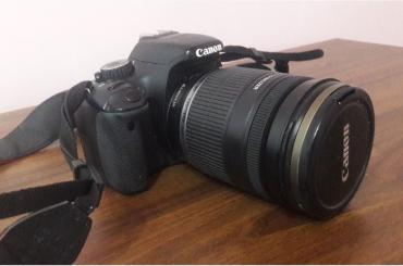 купить-canon-600d в Кыргызстан: Canon 550 + встроенная батарея грип, объектив 18/200 с двумя линзами