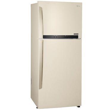 lg v10 в Кыргызстан: Новый Двухкамерный Бежевые холодильник LG
