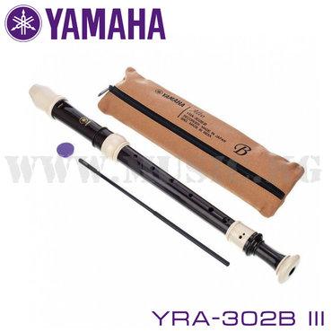Флейты - Бишкек: Блок-флейта Yamaha YRA-302B (III) – серьезные музыкальные инструменты