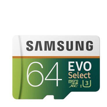 foto kamera - Azərbaycan: Samsung Evo select 64 Gb Micro SD 95mb/sYüksək sürət4K Ultra HD