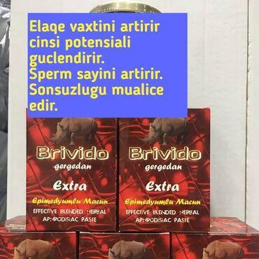 qadın oksfordları - Azərbaycan: Bri̇vi̇do extra epimedyumlu gecikdirici məcun.Erken boşalma problemi