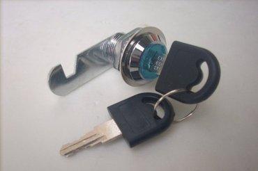 Ostalo za kuću | Boljevac: Metalne bravice za sanducice, itd. Precnik 16mm. ide sa kljucem