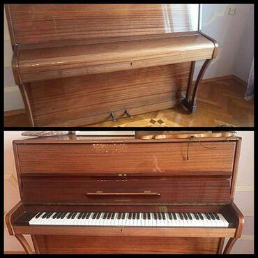 İdman və hobbi - Biləsuvar: Ronisch piano satilir. Qiymeti 700 azn. Yaxsi veziyyetdedir. Unvan