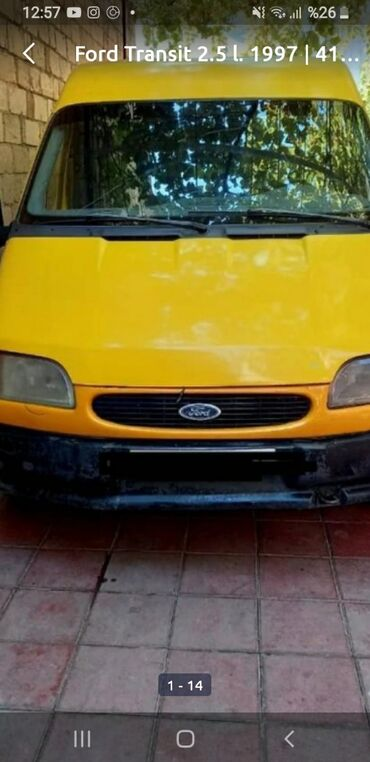 89 elan | NƏQLIYYAT: Ford Transit 2.2 l. 2000 | 220000 km