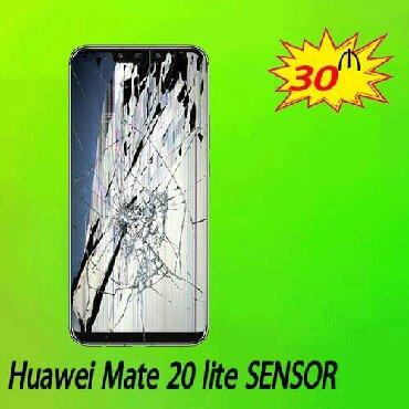 Texnikanın təmiri Azərbaycanda: Huawei Mate 20 Lite sensor dəyişimi.Məhsullarımız tam keyfiyyətli və