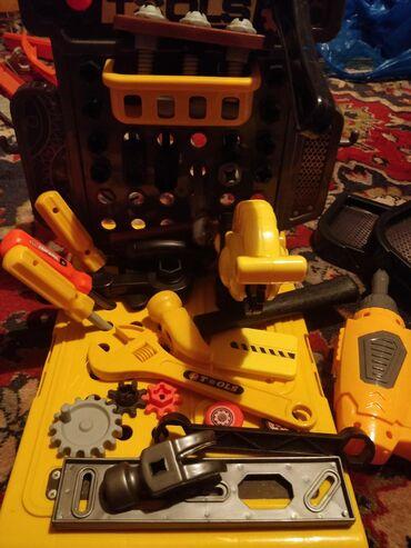 детские игрушки 3 в Кыргызстан: Детский комплект игрушек, всё работает всё поворачивается, крутится