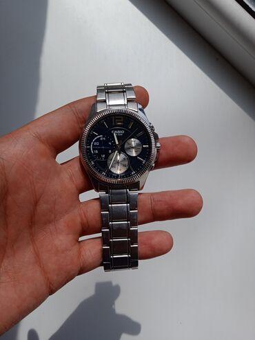джоггеры мужские в Кыргызстан: Серебристые Мужские Наручные часы Casio