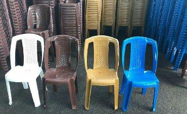 Plastik oturacaqlar 12 azn anbardan satış, Bakı şəhəri və rayonlara в Dyubendi