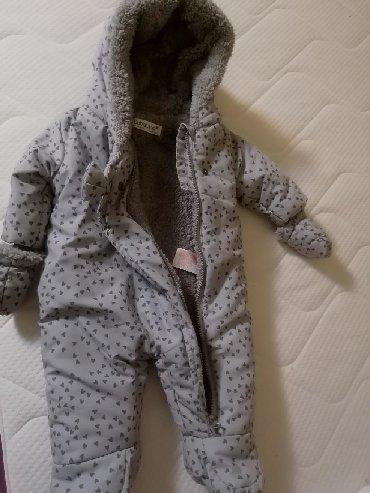 Dečije jakne i kaputi | Futog: Prodajem nov skafander, vel 62/68, kvalitetan i topao, rukavice mogu