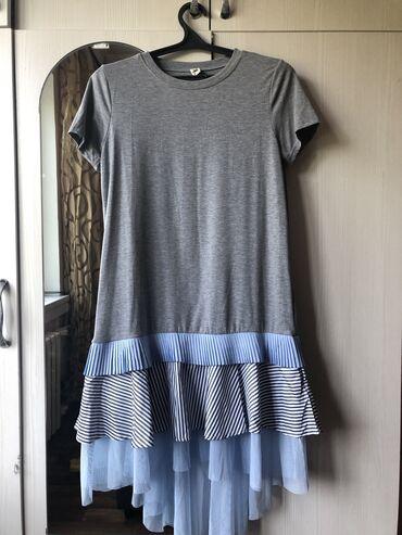 размер-44-платья в Кыргызстан: Повседневная платья футболка размер 44