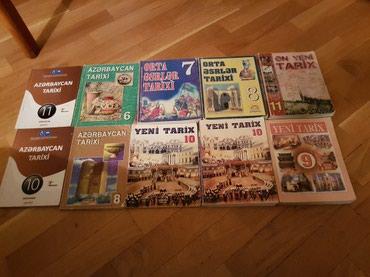 Bakı şəhərində Tarix kitabları