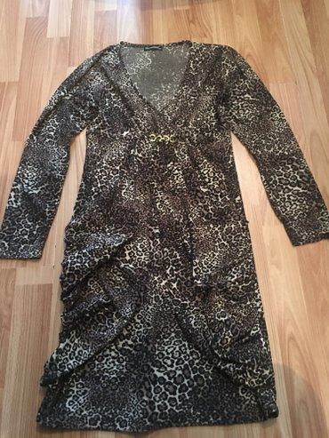 Продаю турецкое платье с леопардовым в Бишкек