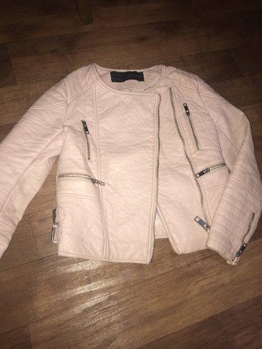 кожаная куртка размер xs-s дешево whats app  в Бишкек