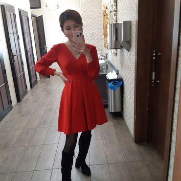 джинсовое платье на пуговицах в Кыргызстан: Продаю платье за 1000с  Платье новое носила только раз