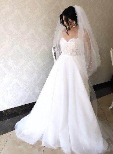 Продается или сдается напрокат красивое свадебное платье. Эксклюзивная в Бишкек