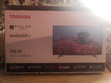 Продам или поменяюНовый телевизорTOSHIBA 43/108смПричина продажи
