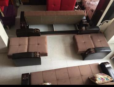 Bakı şəhərində bir divan ve iki kreslofabrik istehsalıdı yenidir Mebeller bakıda pe