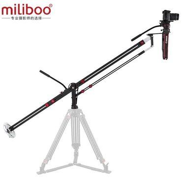 штатив для камеры в Кыргызстан: Алюминиевая телескопическая кран-стрелка для видео/DSLR камер с нагруз