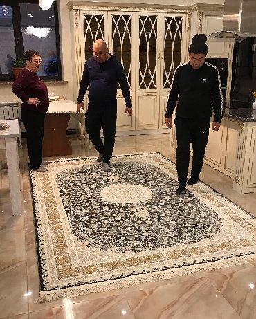 бежевые кюлоты в Кыргызстан: Иранские ковры. 3.600.000 Узлов  Эрмек  Калыбек  Замирбек