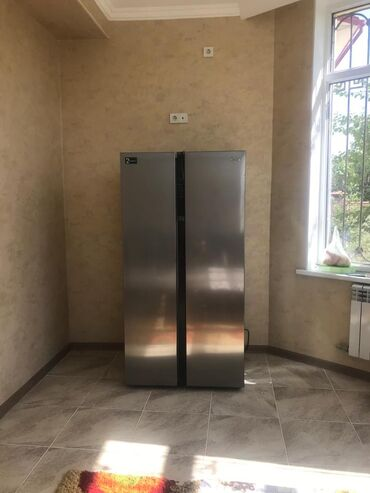 Новый Двухкамерный Серый холодильник