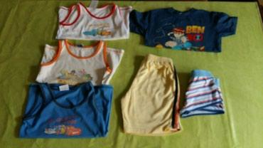 Jedna-majca - Srbija: Majice,šorc i donji veš za decake vel. 6 god.polovne i samo jedna