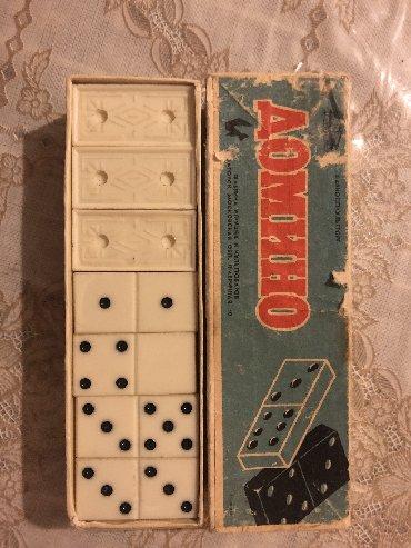- Azərbaycan: Domino antiq sovet dovrune aid ela veziyetdedir 1950. 60 ci illerin