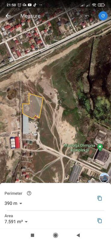 Torpaq sahəsi satılır 76 sot Tikinti, Makler, Kupça (Çıxarış)