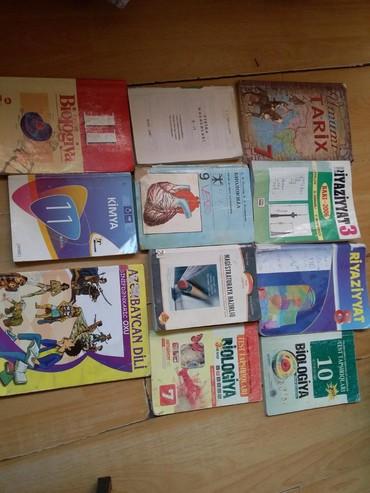 biologiya kitabi - Azərbaycan: Kitab N 13. 9 cu sinif kiril ile biologiya satılıb.4 - 5 man