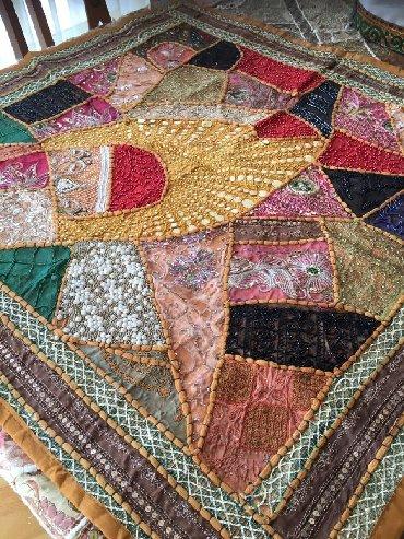 Декор для дома - Бает: Декоративная скатерть из Ирана, ручная работа