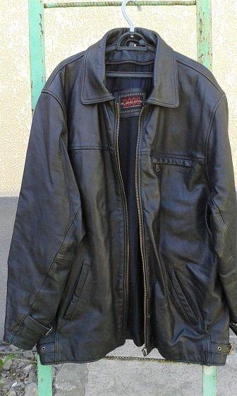 Куртка кожаная с отстегивающейся в Бишкек