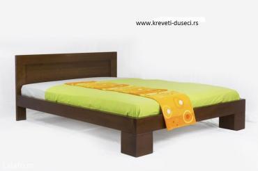 Krevet izradjen od parene bukve izdrzljiv masivan i visokog - Beograd