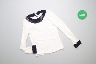 Дитяча блуза з оздобленням ModaLora, зріст 134 см   Довжина: 43 см Рук