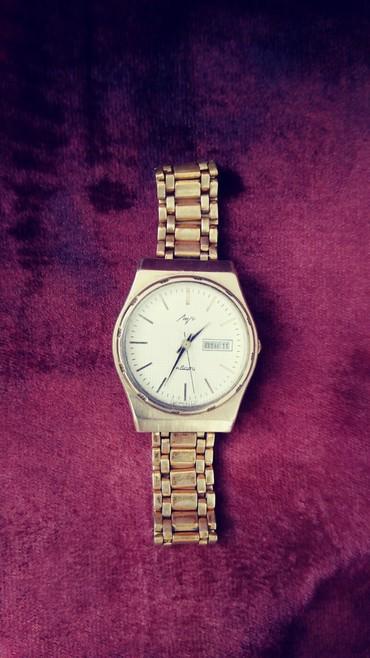 Наручные часы - Кок-Ой: Часы ссср луч кварц позолота АУ