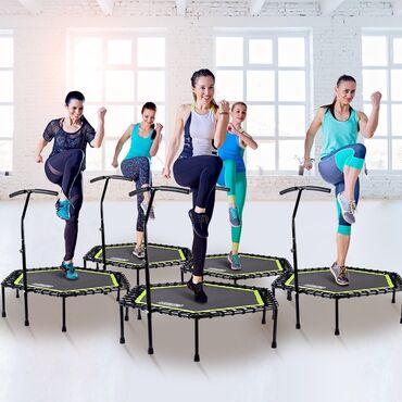 Фитнес батут - возможность заниматься спортом даже в квартире