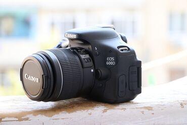Fotoaparatlar - Bakı: Canon 600D + 18.55 lensle birge satilir. Aparat ideal veziyyetdedir