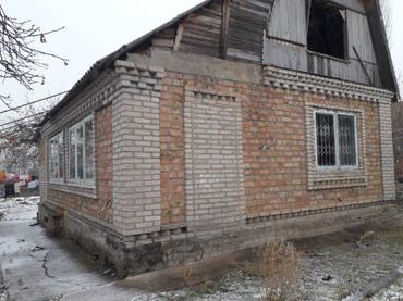 Эки этаж уй - Кыргызстан: Эки комнаталуу уй сатылат 7сотых кухня подвал багы менен свет суу бар