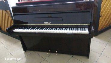 Bakı şəhərində Kompakt ölçülü, tünd şabalıdı rengde,  brend marka akustik piano. 5