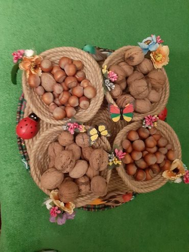 Novruz bayramina ozel dekorativ qab.her formada duzeldirem.sifaris в Bakı